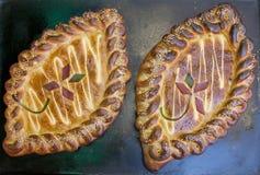 烘烤面包墨西哥平底锅甜点 库存图片