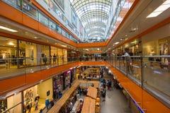 烙记深度表面域内部购物中心名字没有可认识浅 库存图片