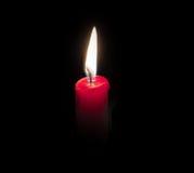 烛光焰 免版税库存图片