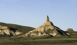 烟囱岩石内布拉斯加 免版税图库摄影
