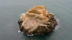 烟囱岩石 免版税库存图片