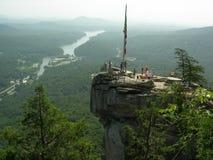 烟囱岩石 库存照片