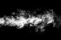 烟或蒸汽云彩 免版税库存照片