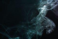烟抽象 库存照片