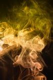烟抽象 免版税库存图片