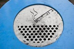烟灰缸公共 库存图片
