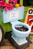 烟灰缸洗手间 免版税库存图片