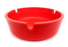 烟灰缸红色 免版税库存照片