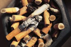 烟灰缸 库存图片