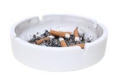 烟灰缸 免版税图库摄影