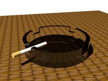 烟灰缸 图库摄影