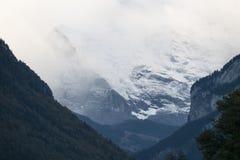 烟特勒根,瑞士 免版税图库摄影