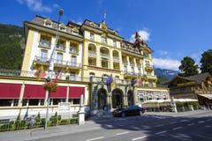 烟特勒根,皇家St乔治旅馆 免版税库存图片