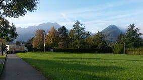 烟特勒根-瑞士 免版税库存图片