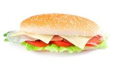 烟肉三明治 库存图片