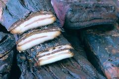 烟肉 库存照片