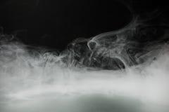 烟背景和浓雾 免版税库存图片