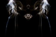 烟艺术摄影 免版税库存照片