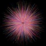 烟花光抽象爆炸爆炸  免版税库存图片