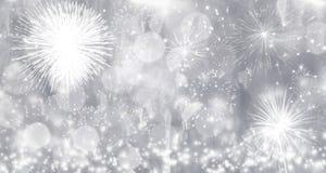 烟花在新年 图库摄影