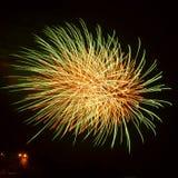 烟花新年度 免版税图库摄影