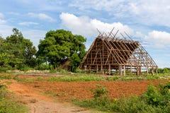 烟草农厂建造场所 图库摄影