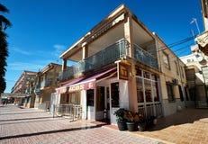 烟草商店在托雷维耶哈市 西班牙 免版税库存照片