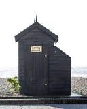 烟议院海滩小屋 免版税库存照片