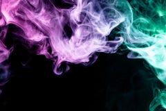烟vape背景  免版税库存图片