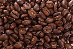 烤咖啡豆,可以用作为背景 免版税库存照片