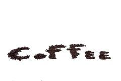 烤咖啡豆 免版税图库摄影