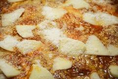 烤宽面条 烹调意大利语的食品成分 库存照片