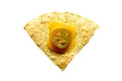 烤干酪辣味玉米片 库存照片