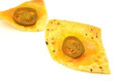 烤干酪辣味玉米片 免版税库存照片
