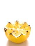 烤柠檬 免版税库存图片