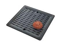 烤焙用具填充平底锅擦试 免版税库存图片
