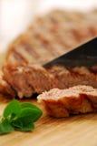 烤牛排 免版税图库摄影