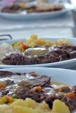 烤牛肉在餐馆 库存照片