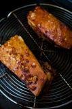 烤猪肉腹部 图库摄影