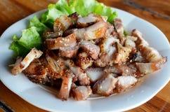 烤猪肉 免版税库存图片