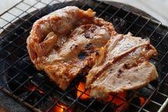 烤猪肉 免版税图库摄影