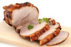 烤猪肉 库存照片