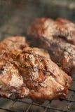 烤猪肉BBQ 库存图片