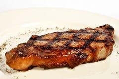 烤猪里脊肉 库存图片