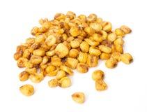 烤玉米坚果 库存图片