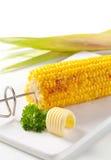烤玉米 库存图片