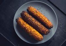 烤用玉米用香料 库存照片