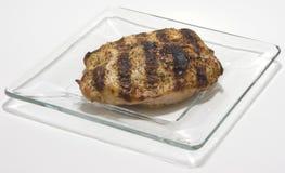 烤的乳房鸡 库存照片