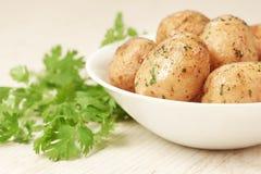 烤的土豆 免版税库存照片