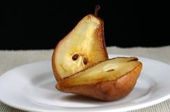 烤的梨 库存照片